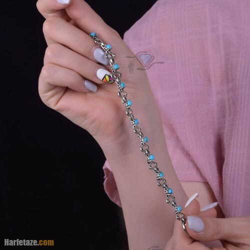 دستبند نقره زنانه 1400