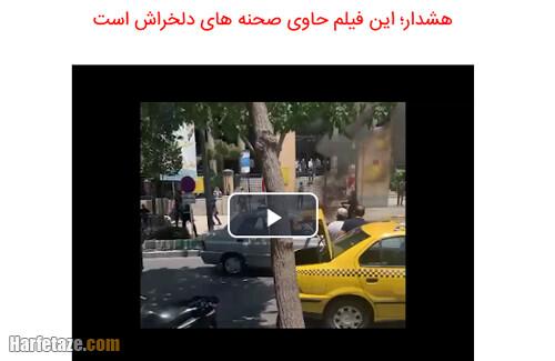 فیلم/ خودسوزی دلخراش یک معلم مقابل دادگستری اصفهان علت خودسوزی چیست