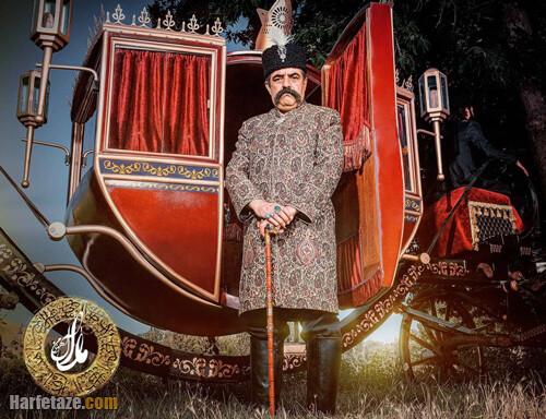 گوهر خیراندیش بازیگر نقش همسر ناصرالدین شاه در سریال آهوی من مارال