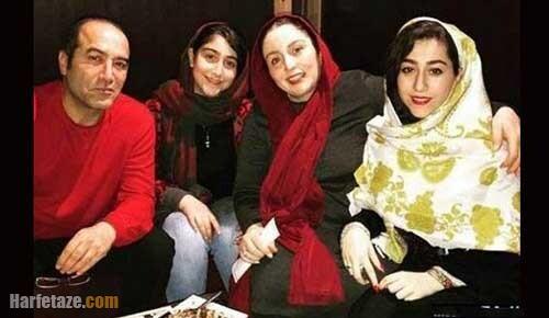 عکس جدید همسر و دو دختر ژاله صامتی