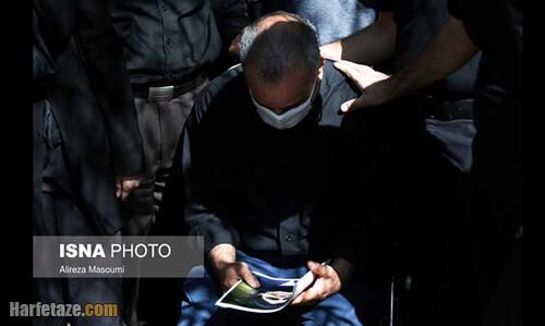 عکس و فیلم مراسم خاکسپاری ریحانه یاسینی و مهشاد کریمی خبرنگاران ایسنا و ایرنا