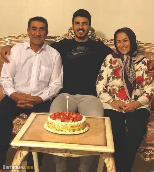 خانواده و عکس پدر و مادر میثم صالحی