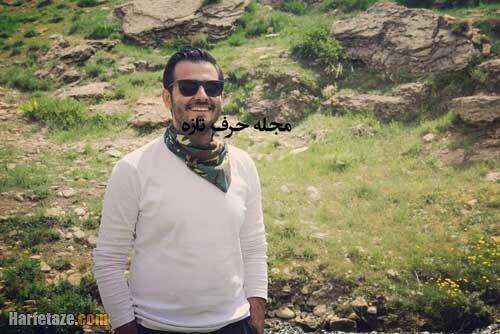 moein zarabi bazigar harfetaze com 2 - معین ضرابی | بیوگرافی معین ضرابی بازیگر و کارگردان و همسرش+ خانواده و فیلم شناسی