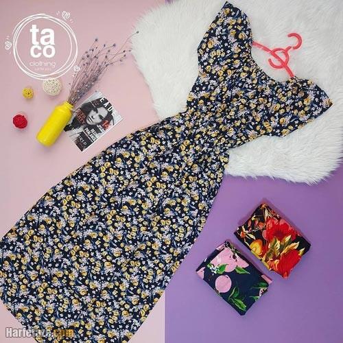 پیراهن تابستانی زنانه 1400