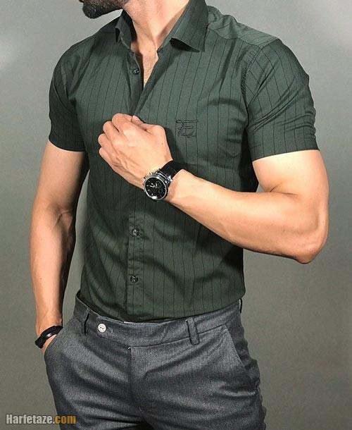 پیراهن آستین کوتاه مردانه ۱۴۰۰