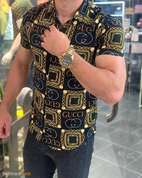 جدیدترین انواع مدل های پیراهن هاوایی مردانه 1400