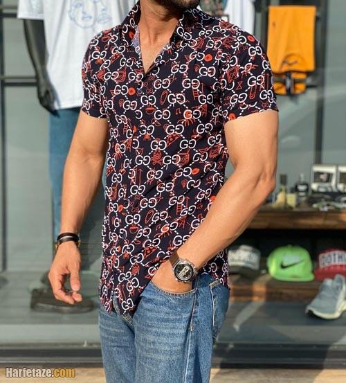 پیراهن هاوایی مردانه 1400