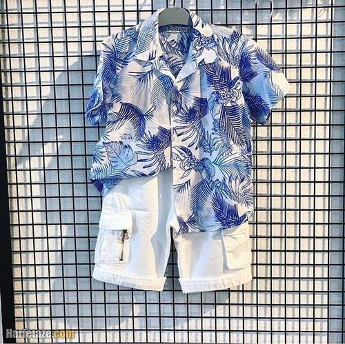 پیراهن هاوایی پسرانه 1400