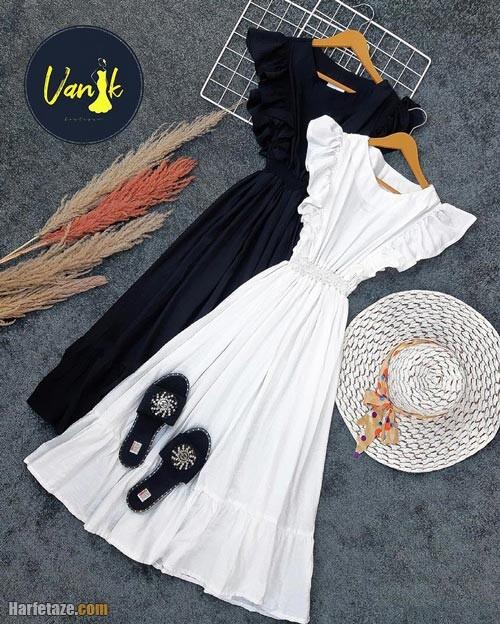 پیراهن ساحلی زنانه 1400