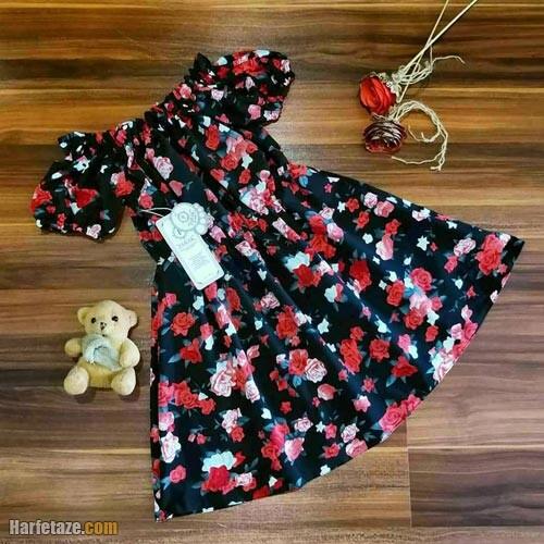 پیراهن تابستانی دخترانه 1400