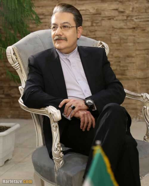 عکس های جدید رضا حسین زاده گوینده خبر تلویزیون