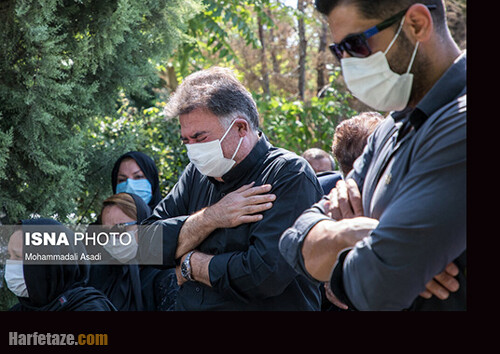 عکسها و تصاویر مراسم ختم ریحانه یاسینی خبرنگار ایرنا