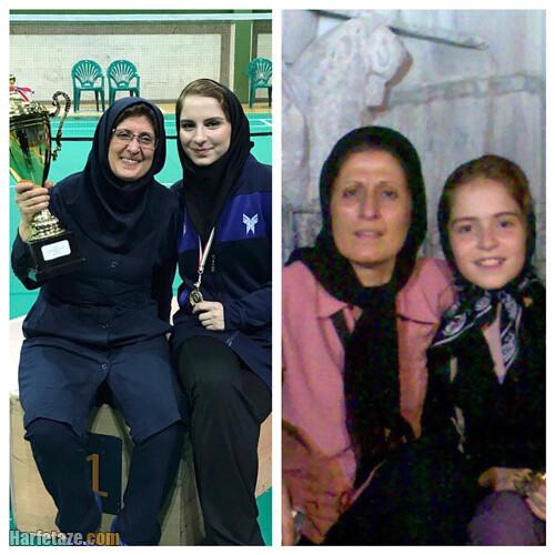 عکس ها و تصاویر شخصی و ورزشی ثریا آقایی بدمینتون باز ایرانی