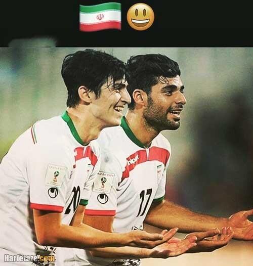 عکس نوشته و پروفایل حمایت از تیم ملی فوتبال