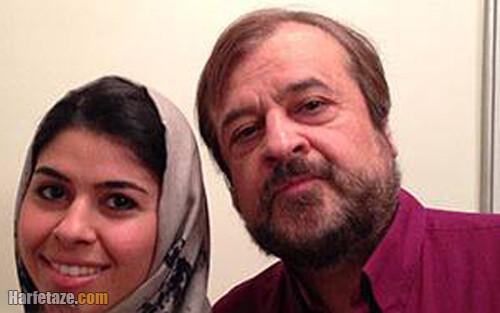 حمیدرضا صدر و دخترش غزاله