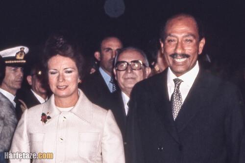 درگذشت جهان سادات، همسر انور سادات رئیسجمهور سابق مصر