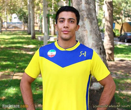 مدال گرفتن محمد رضا گرایی در المپیک