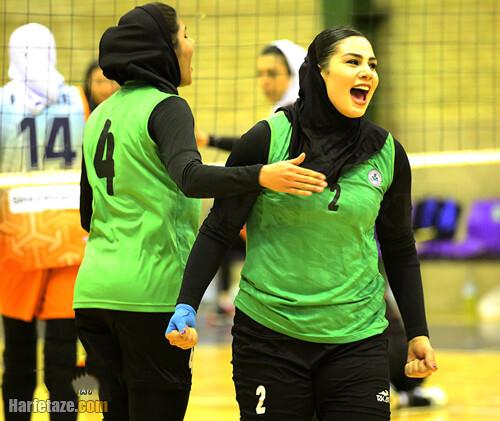 بیوگرافی مونا دریس محمودی و همسرش + زندگی شخصی و والیبالی با عکس های اینستاگرام
