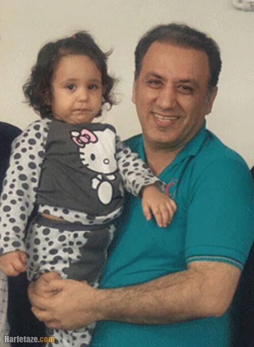 سید مرتضی حسینی مجری تلویزیون و فرزندانش