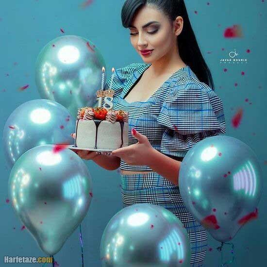 ایده عکس تولد دخترانه