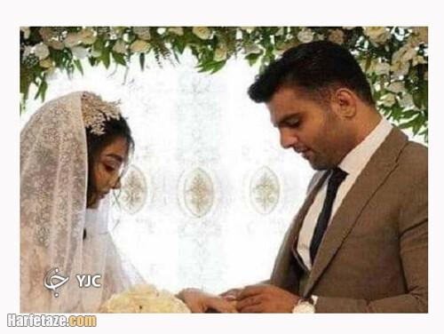 عکس های جدید و دو نفره ازدواج علی شعبانی و زهرا یزدانی دو کشتی گیر مازندرانی