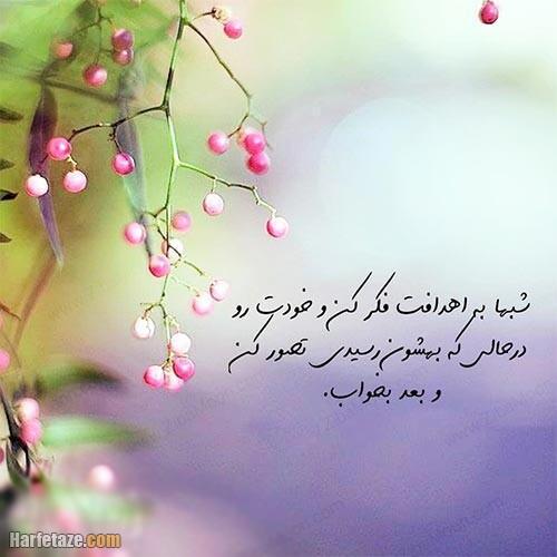 عکس نوشته درباره هدف 1400