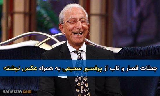 جملات ناب پرفسور سمیعی + مجموعه عکس نوشته های جملات مجید سمیعی