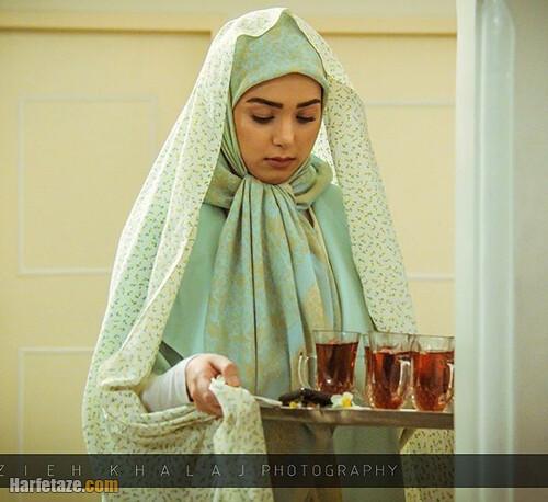 عکس های جنجالی بازیگر نقش سارا در سریال زندگی زیباست