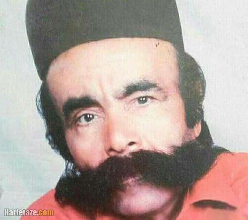 درگذشت محمد علی نژاد معروف محمد بارو رکورددار سبیل در ایران