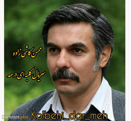 محسن کاشی زاده بازیگر سریال کلبه ای در مه