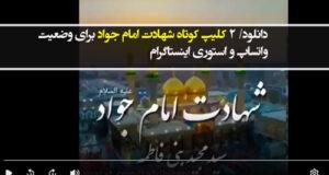 دانلود/ ۲ کلیپ کوتاه شهادت امام جواد برای وضعیت واتساپ و استوری اینستاگرام