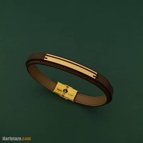 دستبند چرم مردانه 1400