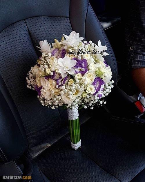 دسته گل عروس 1400