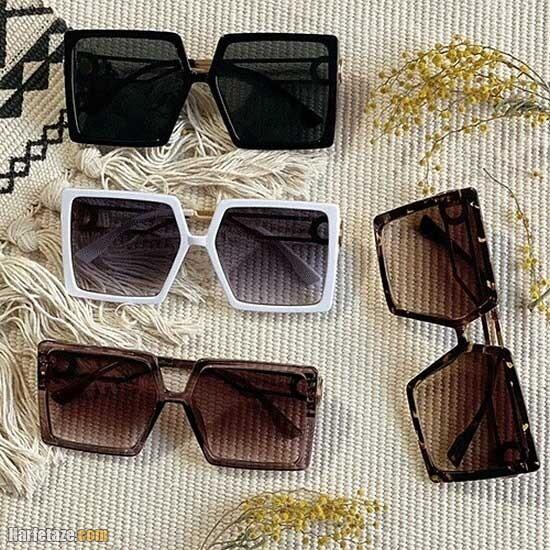 مدل عینک آفتابی دخترانه شیک جدید