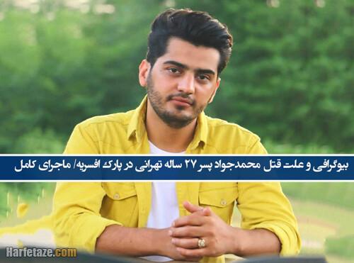 بیوگرافی و علت قتل محمدجواد گرایی پسر 27 ساله در افسریه/ ماجرای قتل