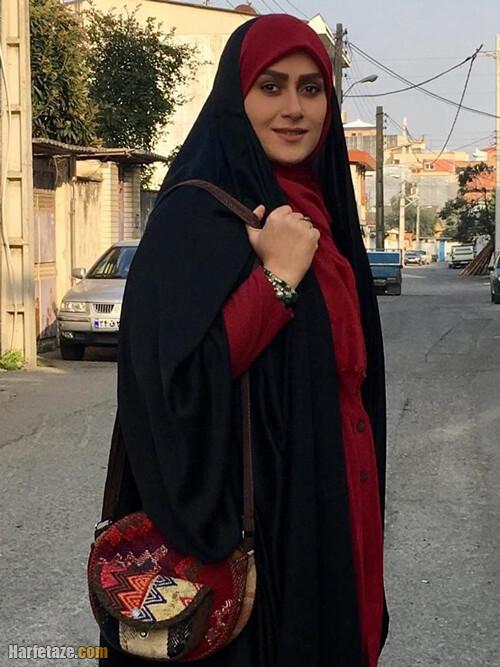 عکس ها و تصاویر شخصی قدسیه صالحی مجری چادری برنامه سلام صبح بخیر