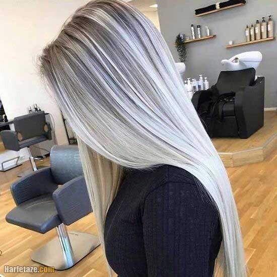 مدل رنگ مو جدید 2022 خوشرنگ فوق العاده شیک (رنگ مو ترکیبی)