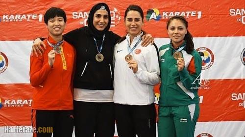 مدال گرفتن حمیده عباسعلی در المپیک