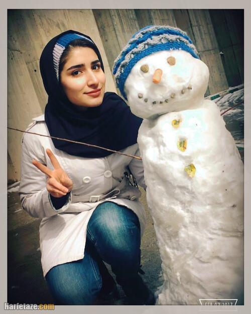 عکس ها و تصاویر شخصی هانیه رستمیان ملی پوش تیراندازی زنان ایران