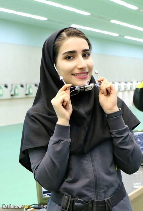 بیوگرافی هانیه رستمیان قهرمان تیراندازی
