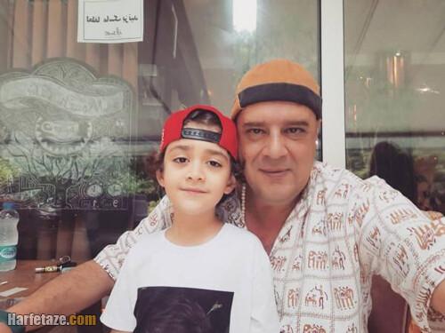 عکس های شخصی حسین شهبازی بازیگر نقش پارسا در دودکش 2