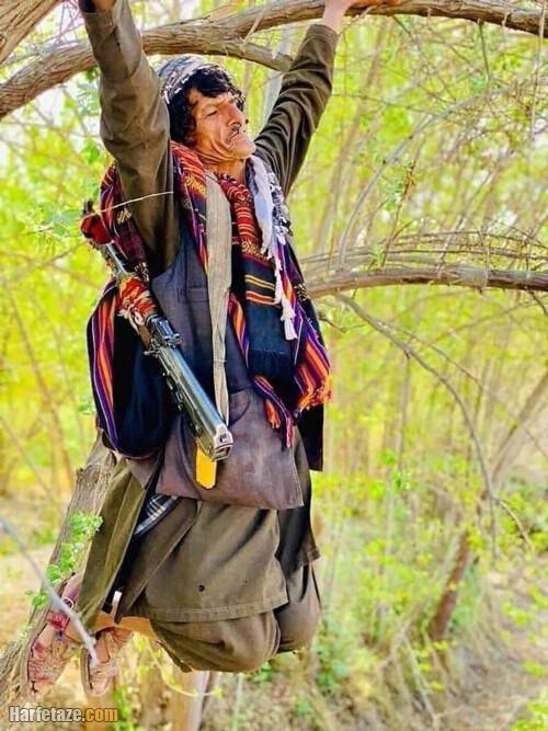 فیلم تیرباران نظرمحمد معروف خاشه زوان کمدین افغانی
