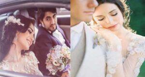 ست لباس عروس و داماد برای عقد محضری