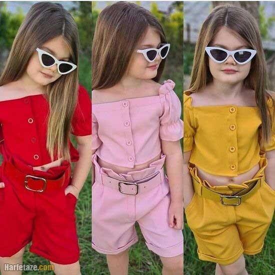 مدل های پیراهن دخترانه تابستانه 2021