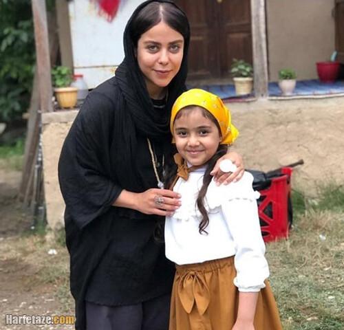 بیوگرافی مهنا سیدی بازیگر نقش ارنیکا سوزنچیان در سریال دودکش 2