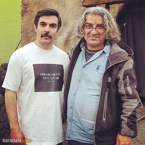 بیوگرافی محسن کاشی زاده بازیگر نقش احد در سریال کلبه ای در مه