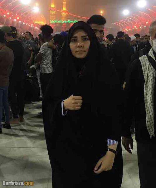 زندگینامه نفیسه سهرابیان خبرنگار شبکه خبر