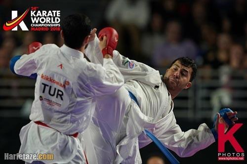 کاراته بازی سجاد گنجزاده