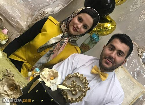 سجاد گنجزاده و همسرش