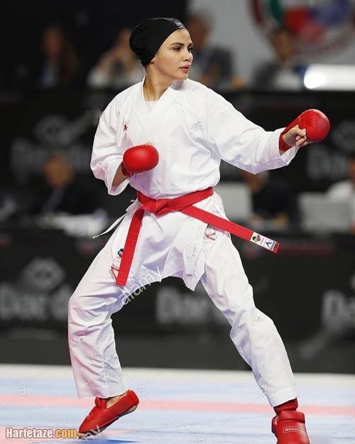 کاراته بازی سارا بهمنیار